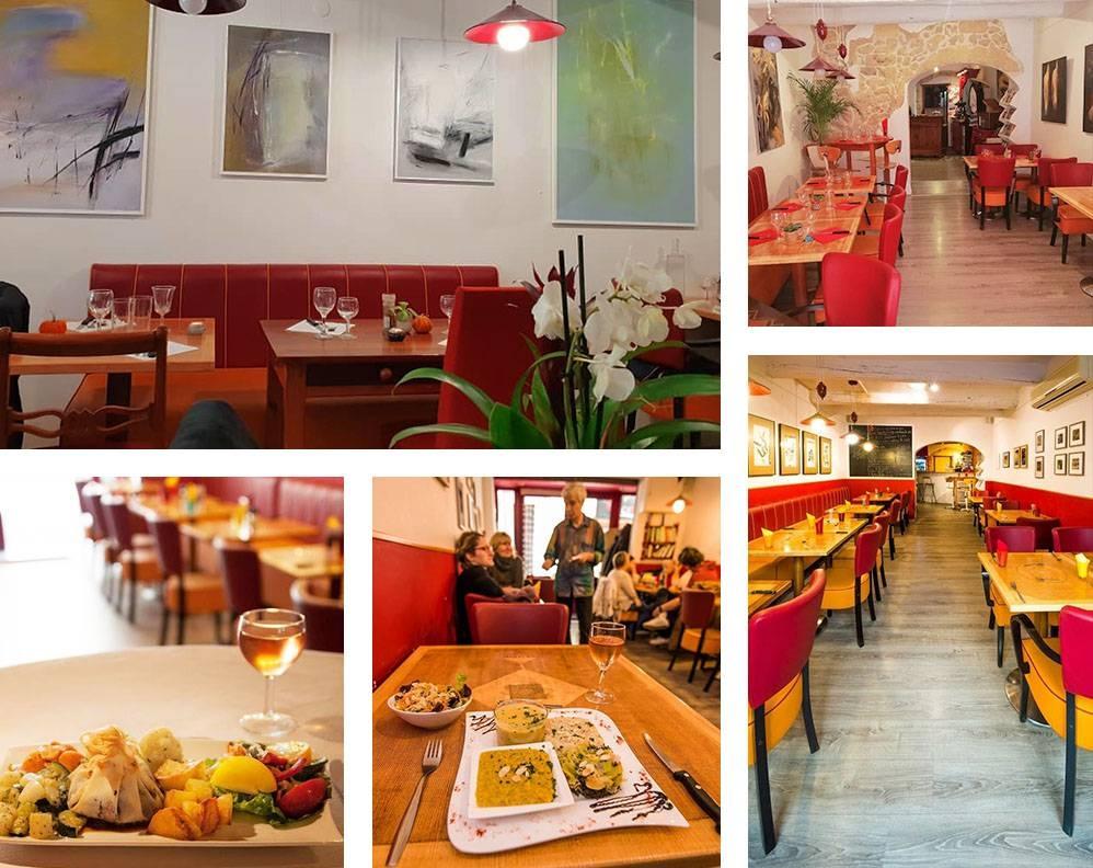 Le restaurant - La Case à Palabras - Restaurant Salon-de-Provence